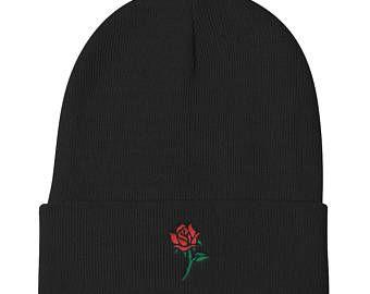 6e7957ee94c Simplistic Rose Beanie
