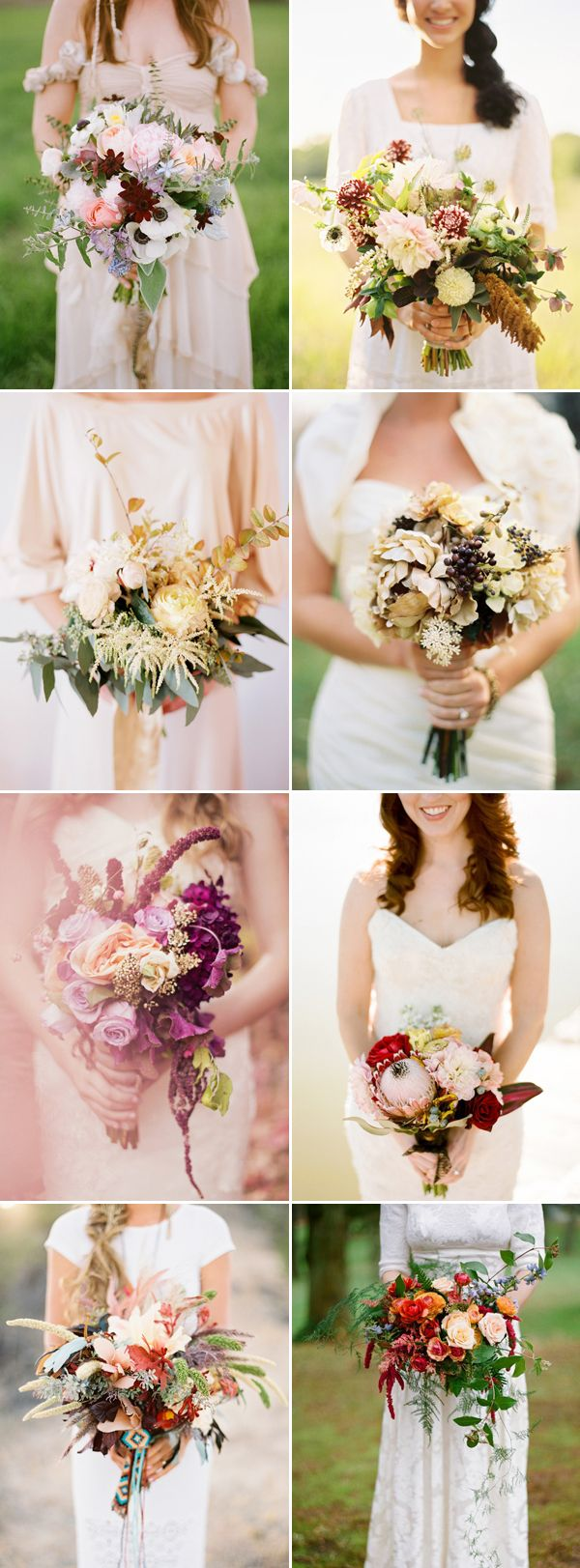22 Gorgeous Fall Wedding Bouquets