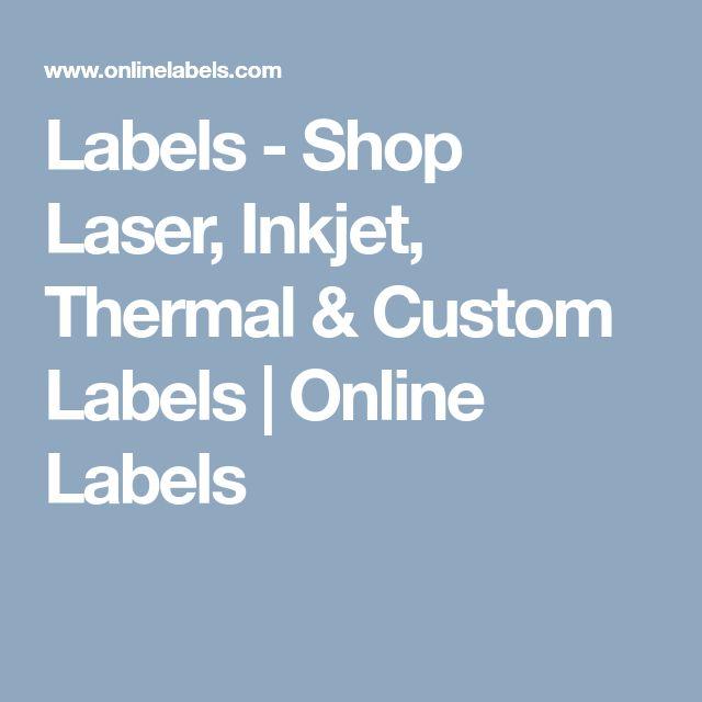 Labels - Shop Laser, Inkjet, Thermal & Custom Labels | Online Labels