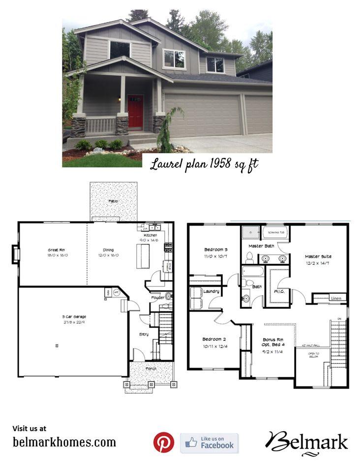Best Belmark Home Plans Images On   Real Estate