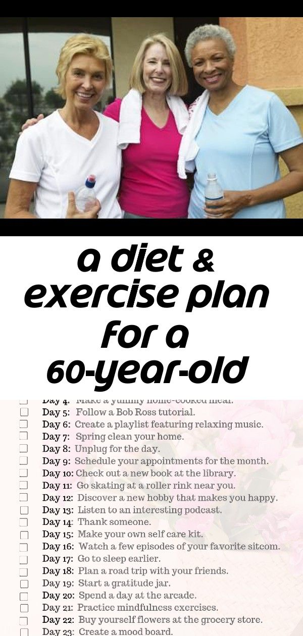 60 year old woman diet