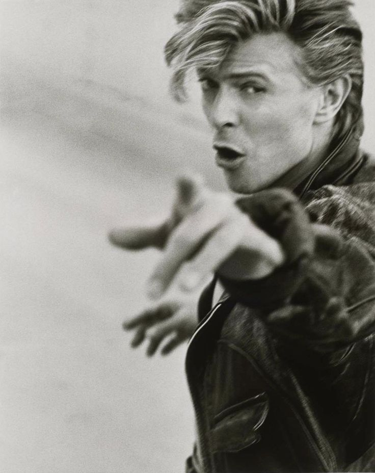 Herb RITTS :: David Bowie, Los Angeles, 1987