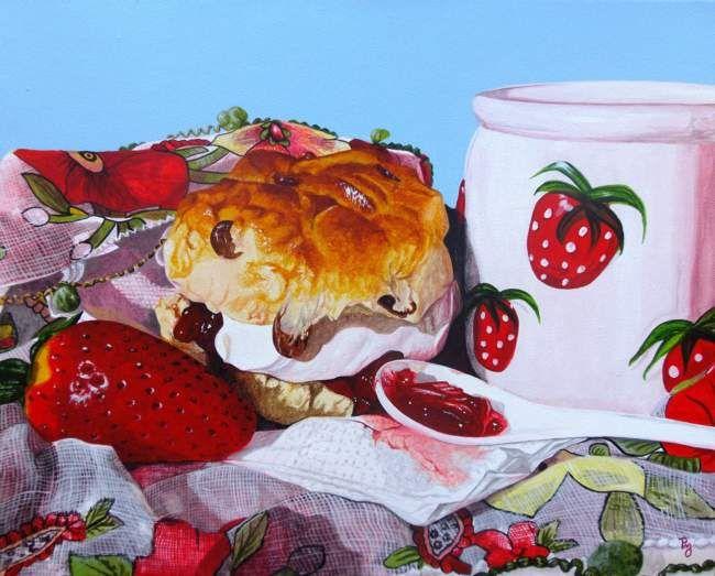 Strawberry fare - Paula oakley