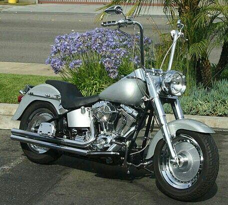 Harley Davidson fatboy Ape Hanger
