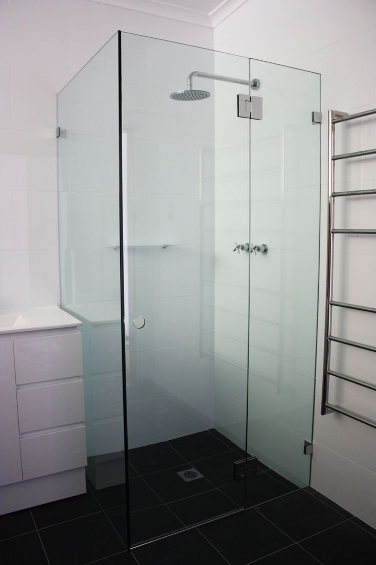 White Bathroom Co Willoughby Shower Screens