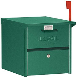 @Overstock - This Salsbury mailbox is made entirely of aluminum and is USPS-approved. The 4300 series mailbox features both front and rear access locking door.http://www.overstock.com/Home-Garden/Salsbury-Green-4300-Roadside-Mailbox/4814047/product.html?CID=214117 $106.49
