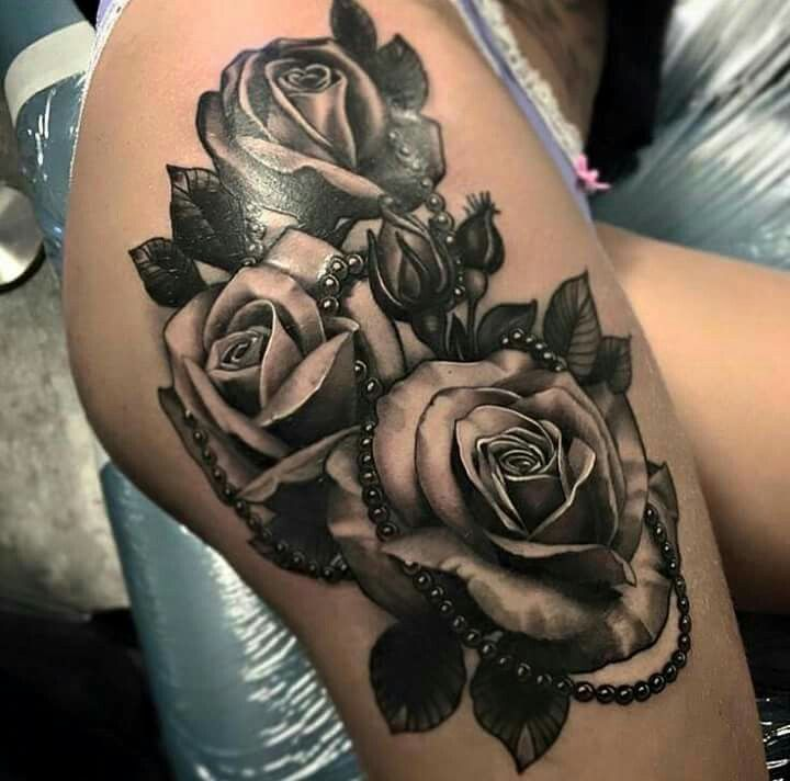 35 Best Beautiful Thigh Tattoos Quotes Images On Pinterest: 1000+ Ideas About Thigh Tattoo Designs On Pinterest