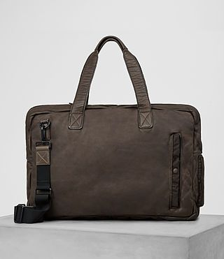 ALLSAINTS Shoto Leather Holdall. #allsaints #bags #leather #