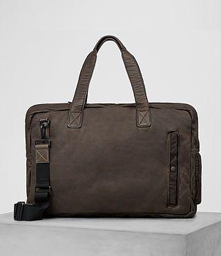 ALLSAINTS Shoto Leather Holdall. #allsaints #bags #leather #