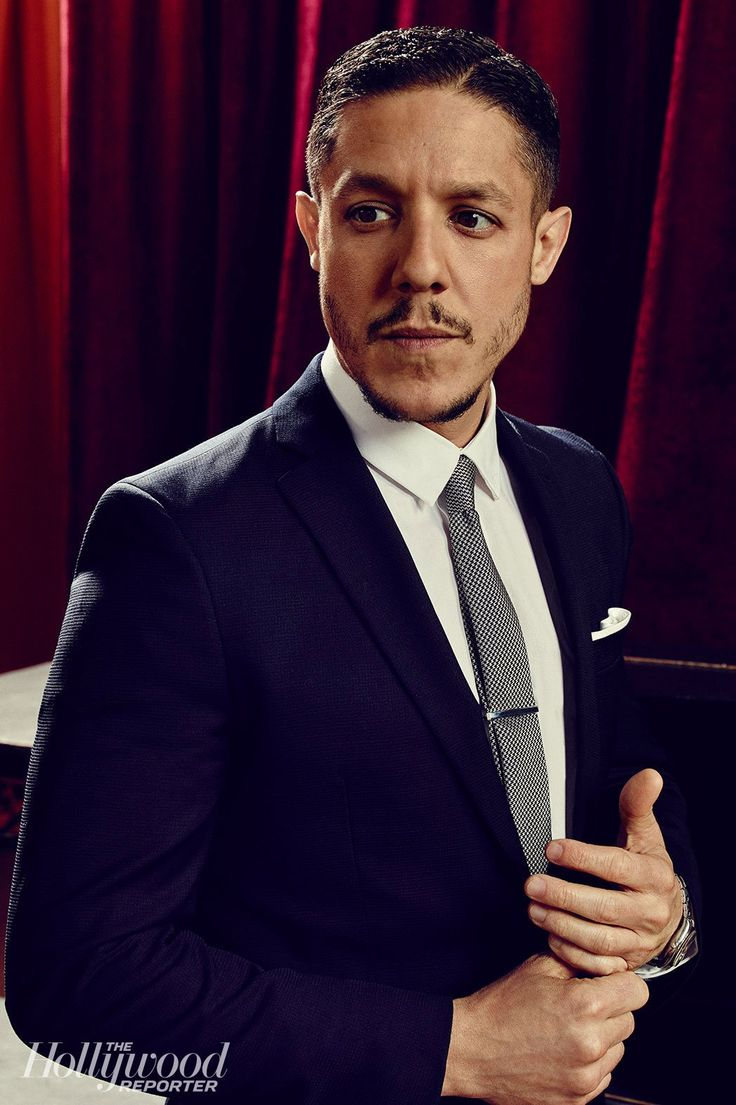 Theo Rossi| Hollywood Reporter: Emmys 'Supporting Actors' categories. Theo looks Outstandingly Gorgeous in this picture!!!!