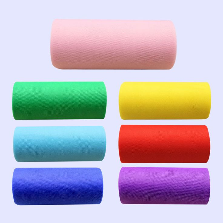 Multi-Colors Roll Tulle Table Skirt Tableware Wedding Party Xmas Decor