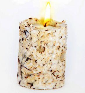 Эко свеча RAFAELLO со стружкой мякоти кокоса и ванилью, Chocolatte