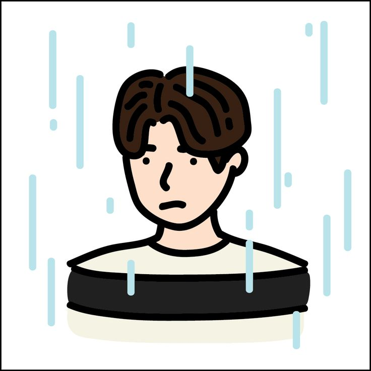 #Rain #Line #Illust #Artwork