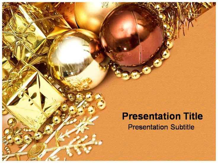 22 best Christmas Templates images on Pinterest Celebrations - christmas powerpoint template