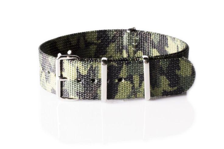 Premium NATO Strap Camouflage Jungle - Cheapest NATO Straps   - 1