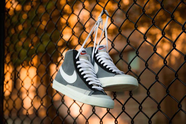 Nike Blazer Mid 77 Vintage Cool Grey White Black Busqueda De Google Vans Old Skool Sneaker Sneakers Vans Sneaker