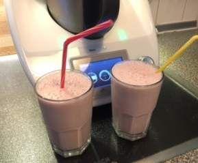 Erdbeer-Bananen Milchshake