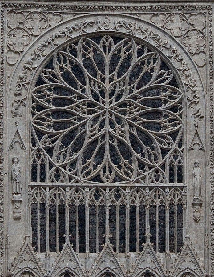 [Rosetón de la Catedral de Amiens]                                                                                                                                                                                 Más