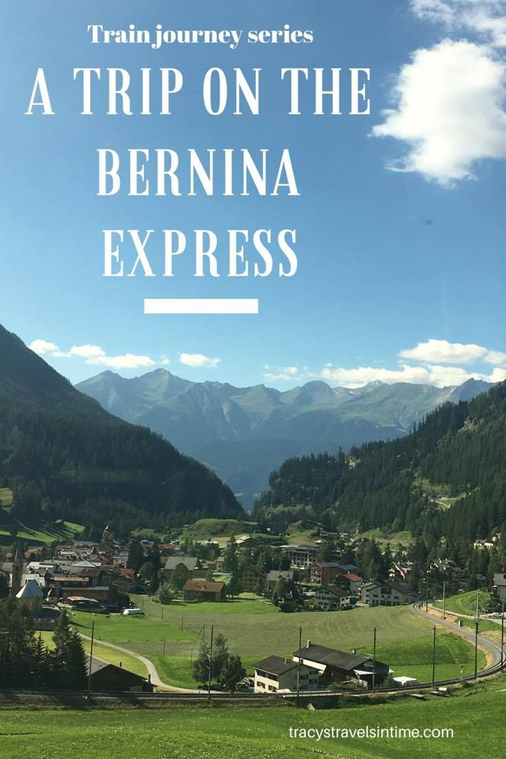 One of the most scenic train journeys in the world - travel from Tirano in Italy to Chur in Switzerland and appreciate the beautiful views!