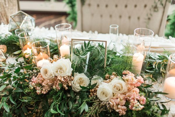 Ruffled - photo by Samantha Jay Photography http://ruffledblog.com/enchanted-garden-wedding-ideas