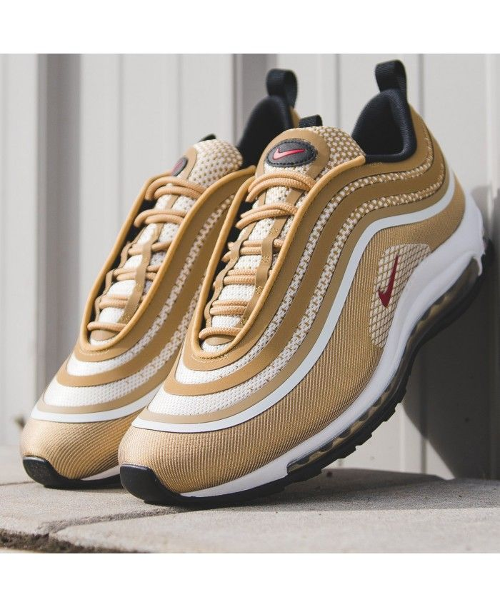 Air Max '97 Ultra Gold 17 Fashion | Gold nike air max, Nike ...