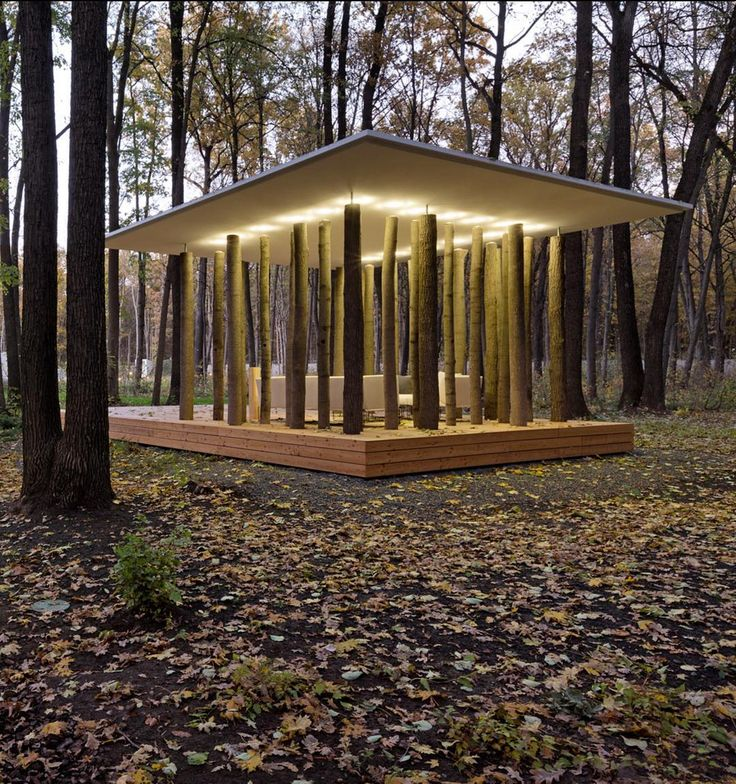 Designboom: Saturday in the #woods! how would you use this #tree #temple? in ancient greek, 'style' means #column and 'peri' around, it is part of 'house with a #peristyle' by #architecture firm drozdov and partners in #kharkiv, #ukraine. image by andre avdeenko read more on #designboom https://www.instagram.com/p/BHE0EUPBj6T/?utm_content=bufferd851a&utm_medium=social&utm_source=twitter.com&utm_campaign=buffer