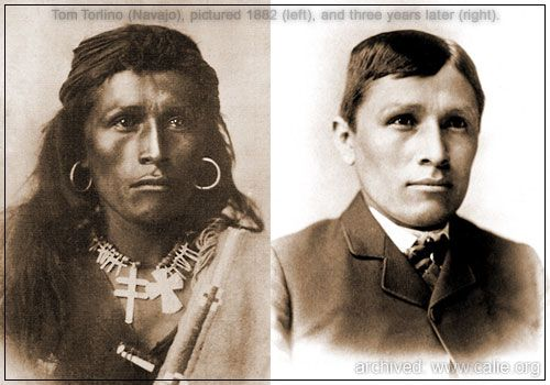"""""""KILL THE INDIAN, & SAVE THE MAN"""" Famous American quote (circa 1880) by U.S. Army Capt. Richard Henry Pratt."""