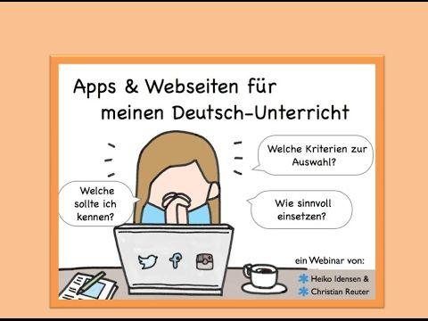 Apps und Webseiten für DaF Unterricht