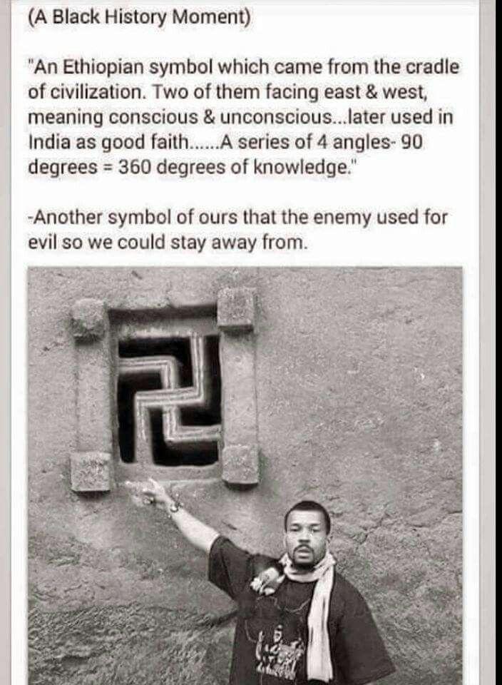 Ethiopian Symbol. The truth behind the Swastika. | History ...