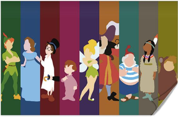 Disney Peter Pan Poster by disneylove417 on Etsy