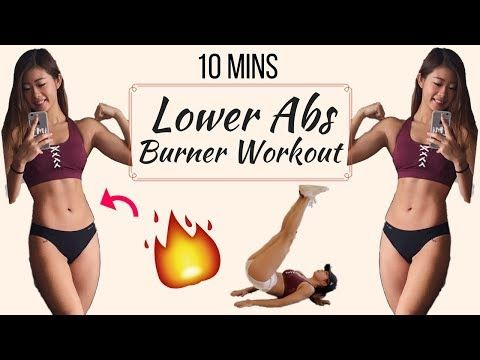 10 min Intense Lower Ab Workout BURN BELLY FAT | No Equipment At Home Routine - YouTube