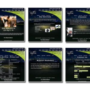 Gallery Websites/ Websites Design - GB Web Design and Video Editing