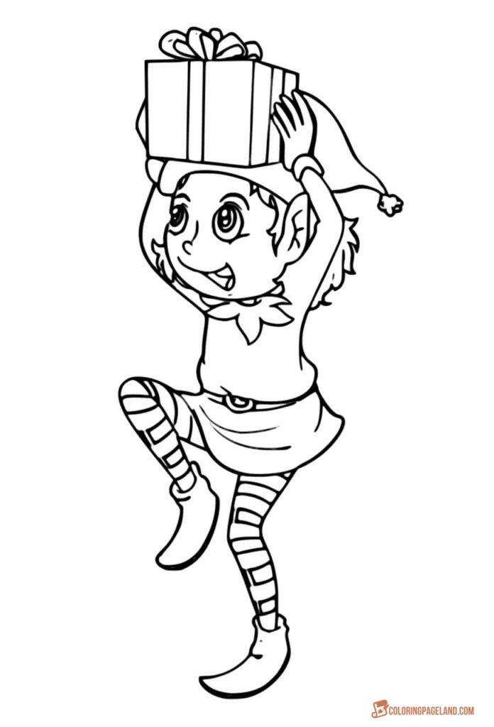 christmas coloring pages elf | Bulbasaur Kolorowanka - Kolorowanki Dla Dzieci