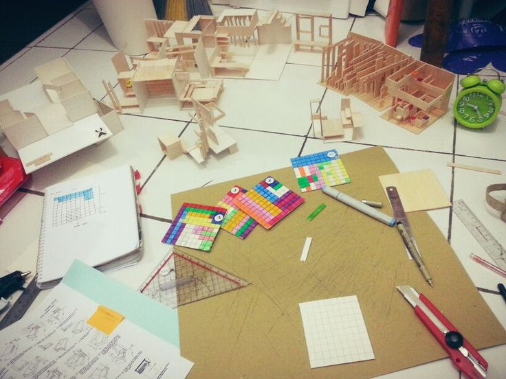 perancangan arsitektur 2 - model exploration through keyword grouped rectangle