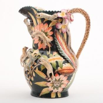 Ardmore Ceramic Art : Monkey jug