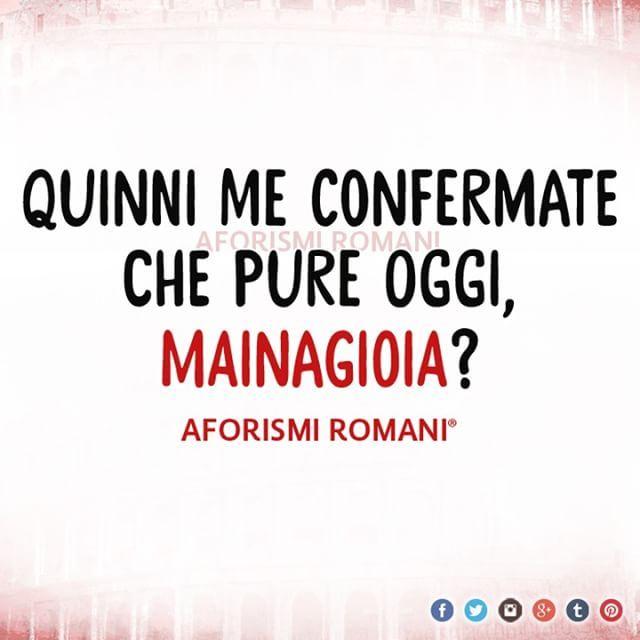 •••••••••••••••••••••••••••• 💣 Scarica la nostra Raccolta ➡ www.aforismiromani.it/raccolta •••••••••••••••••••••••••••• Segui tutti i nostri profili 👇👇👇 @fabriziofrustaci - Ideatore del progetto Aforismi Romani e Noidiroma 🎩💣✈ @noidiroma - Vivi la città di Roma come non lo hai fatto prima 🔝 #aforismiromani #aforismi #frasi #roma #noidiroma #rome #ig_roma #italia365 #frasiitaliane #frasitumblr #frasiitaliane #quote