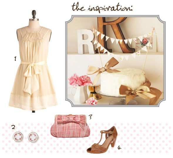 Tea Party Style: Parties Plans, Cute Outfits, Baking Parties, Style Outfits, Parties Pretty, Cakes Buntings, Teas Parties Dresses, Parties Style, Parties Inspiration
