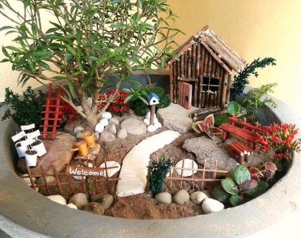 Diy Mini Garten Zubehor Miniaturgarten Diy Gartendekoration Gartendekor