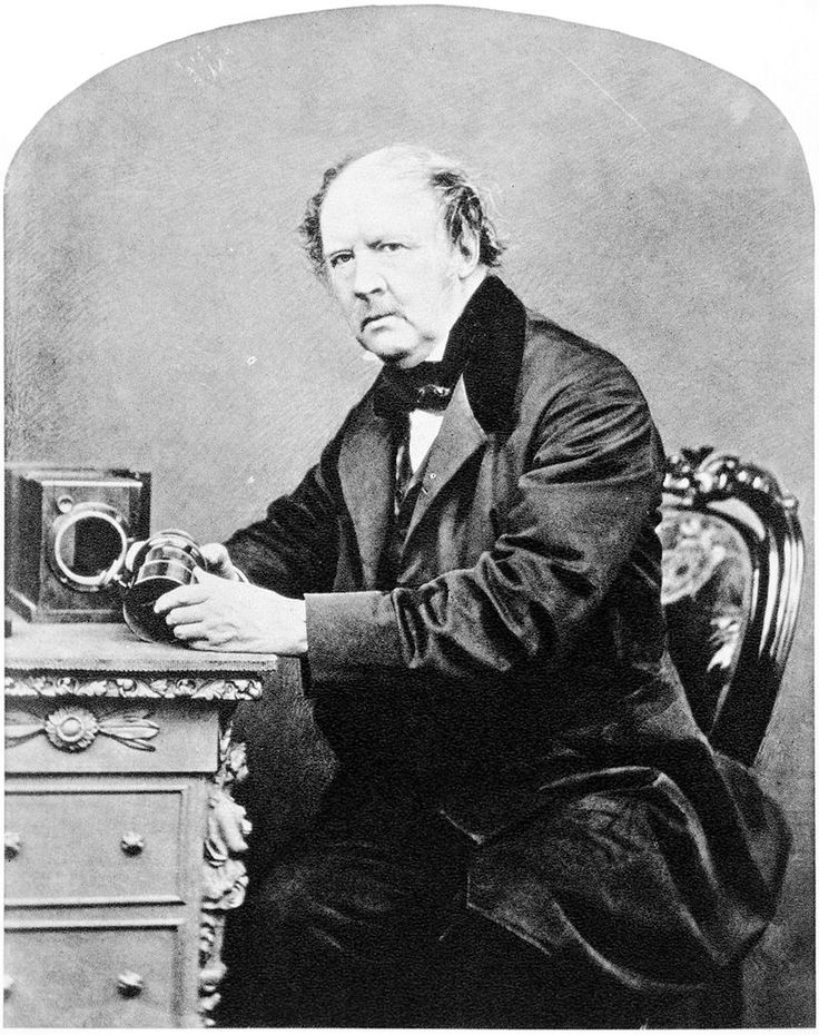 Henry Fox Talbot invented salted paper and the calotype process. From this the first negatives were born. His invention made light fast and permanent photographs available to the public.