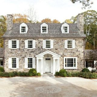 Love the classic style and the stone exterior