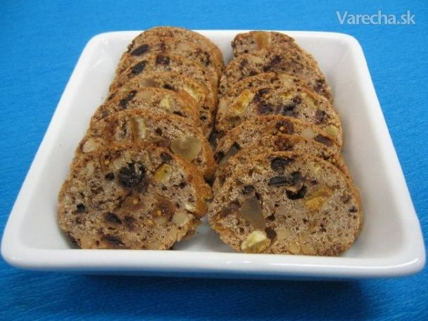 Tvrdý ovocný chlebíček (fotorecept)