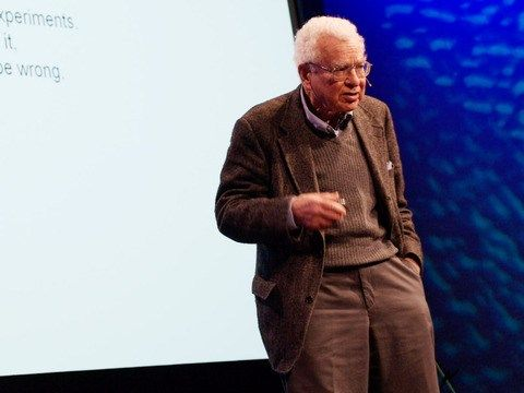 The ancestor of language - After speaking at TED2007 on elegance in physics, the amazing Murray Gell-Mann gives a quick overview of another passionate interest: finding the common ancestry of our modern languages.