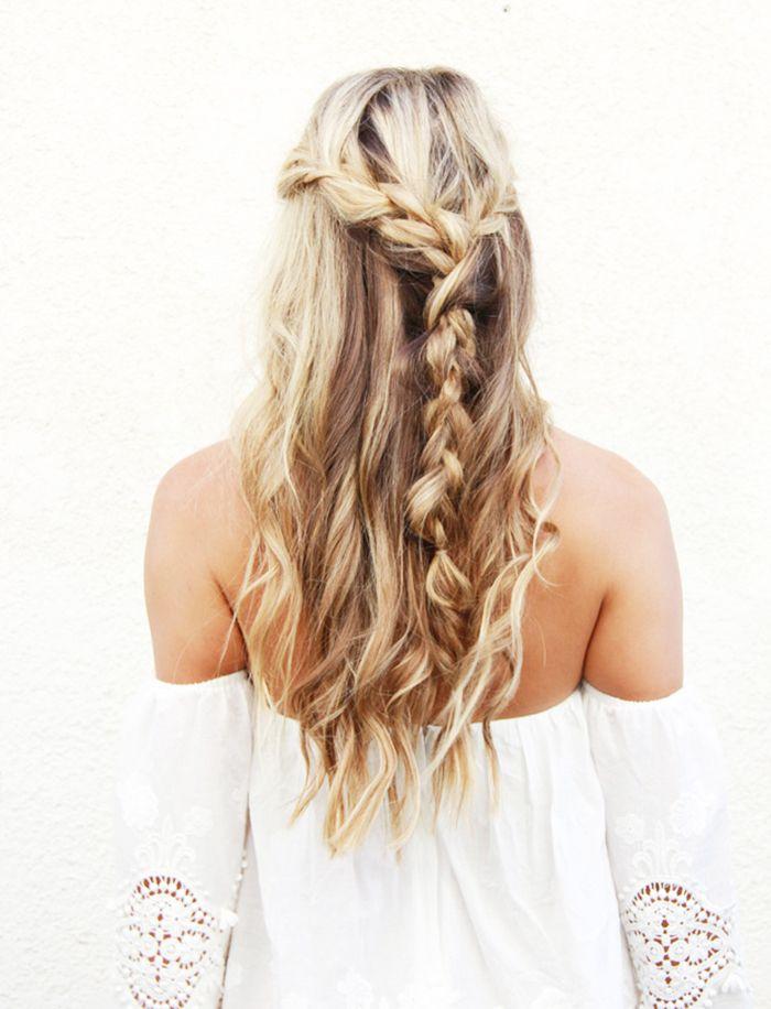 6 Makkelijke haarstijlen voor het lange Pinksterweekend