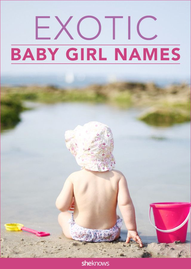 These unusual baby girl names hail from all around the world