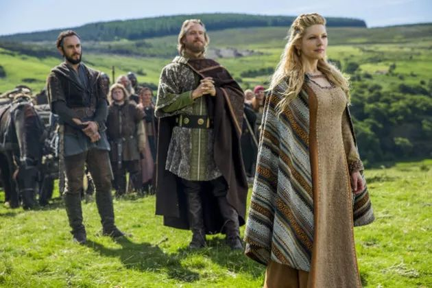 Lagertha Enjoys the View - Vikings