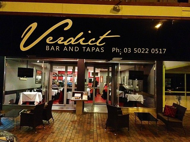 Ranked #1 out of 70 restaurants in Mildura on Tripadvisor. It is mostly Spanish cuisine and mainly does breakfast/brunch and after hours meals. It won the Tripadvisor Badge of Excellence 2013 and has a sister store called Verdict Food for all your specialty food necessities.
