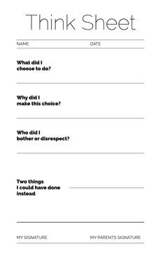 positive thinking worksheet - Google Search