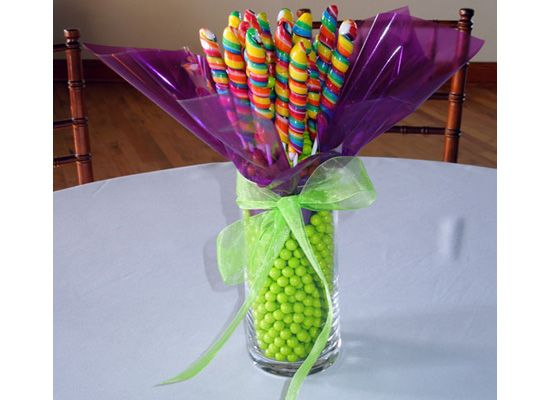 Best images about candy centerpieces on pinterest fun