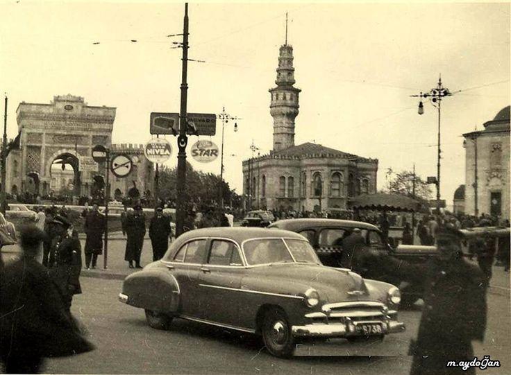 İstanbul - Beyazıt Meydanı, 1950'ler