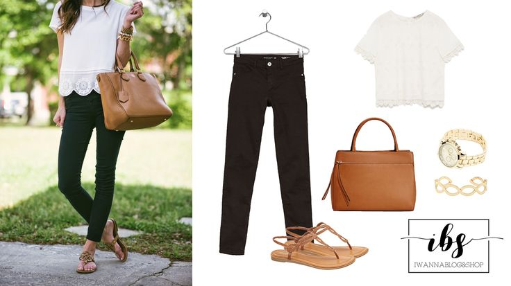 Black&White Outfit, Casual Outfit, Summer Outfit